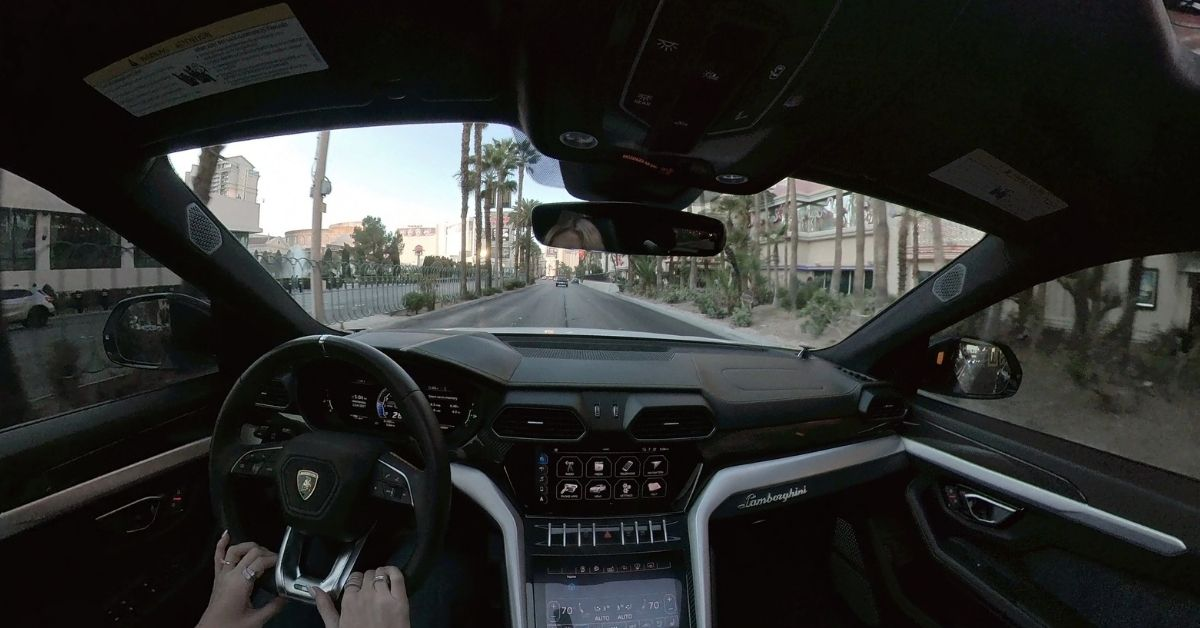 #JennaTries Renting a Lambo at All Star Cars, Off The Strip