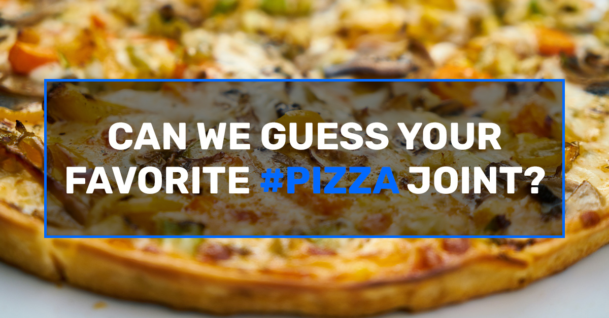 Build your favorite pie and we will guess your favorite pizza joint!, Off The Strip