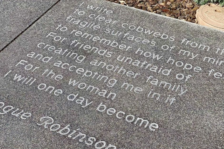 Poetry Paves the Way on Downtown Las Vegas Sidewalks, Off The Strip