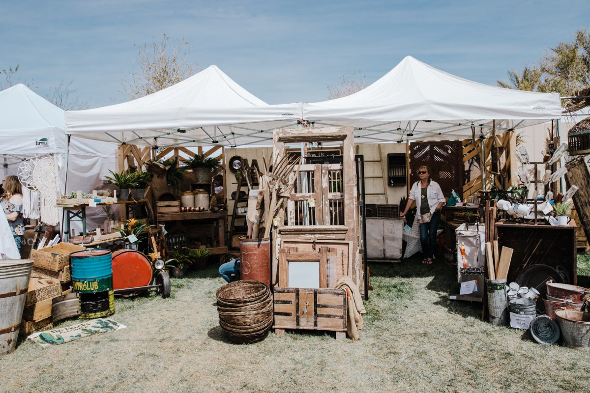 'Be the Joy' at the Vintage Market in Downtown Summerlin, Off The Strip