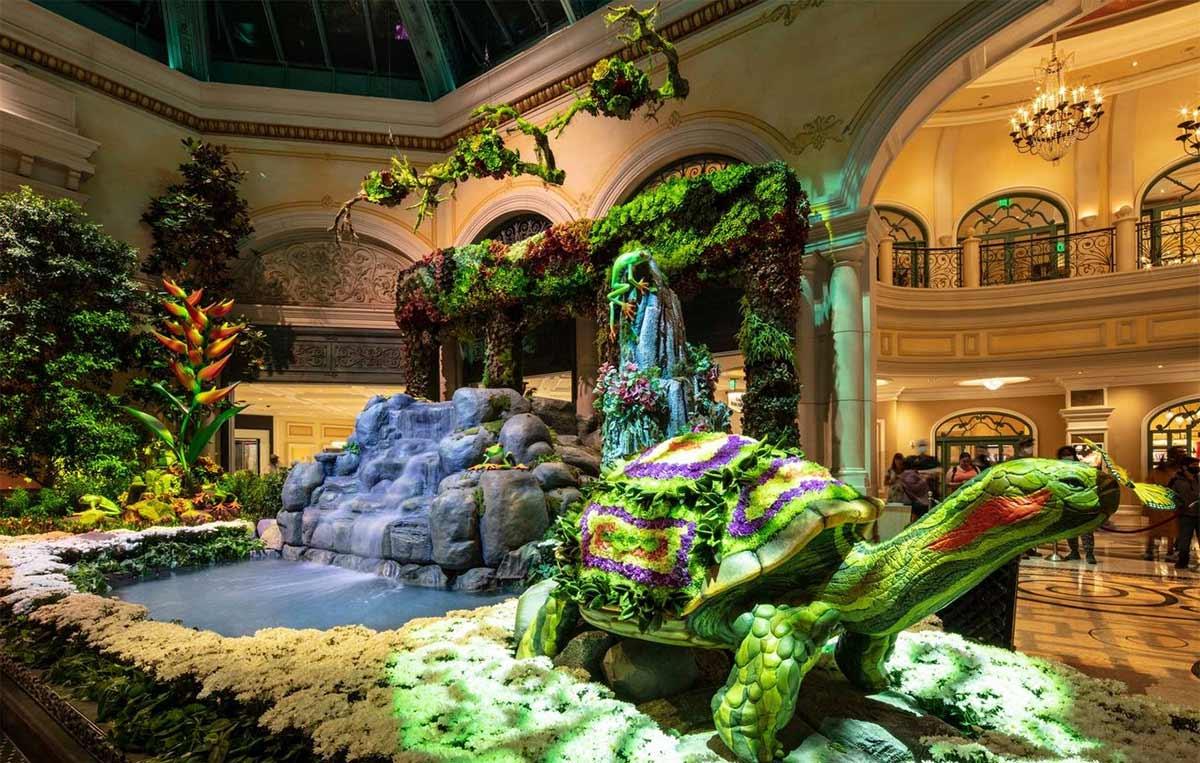 Bellagio Conservatory & Botanical Garden, Las Vegas, Off The Strip