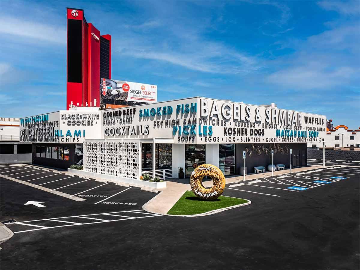Bagel Mania, Las Vegas, Off The Strip