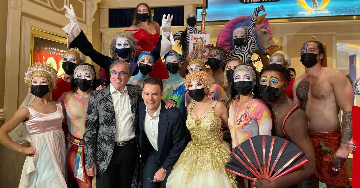 Cirque du Soleil's 'O', Las Vegas