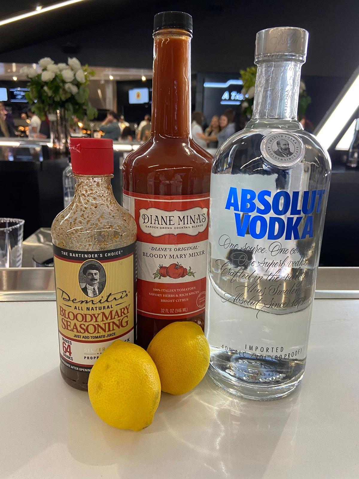 Raider-themed cocktails, Allegiant Stadium, Off The Strip