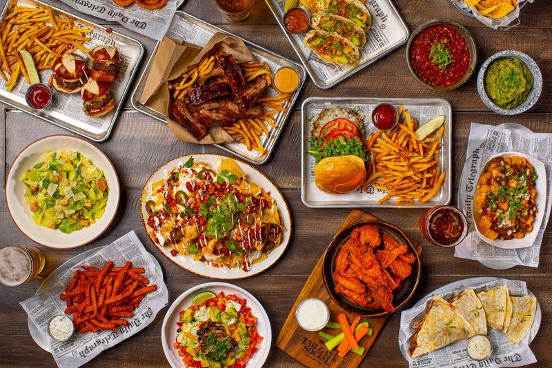 food tailgate social