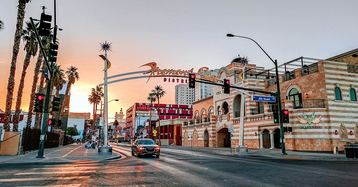 Image of Fremont Street East District in Las Vegas