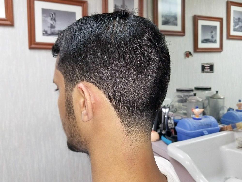 Fresh haircut at Gold Coast Barbershop
