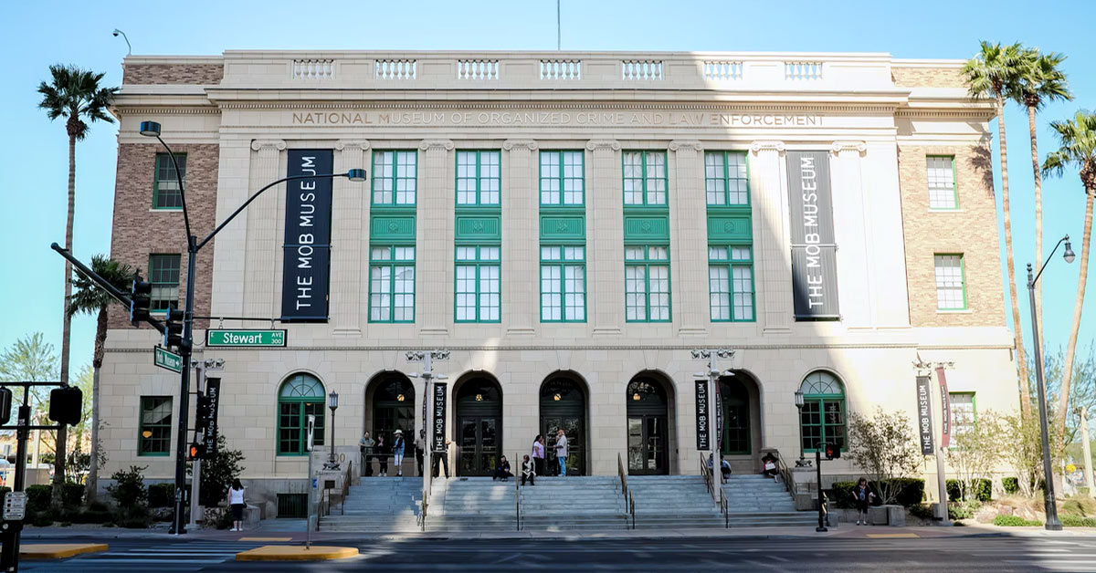 The Mob Museum - Off the Strip In Las Vegas
