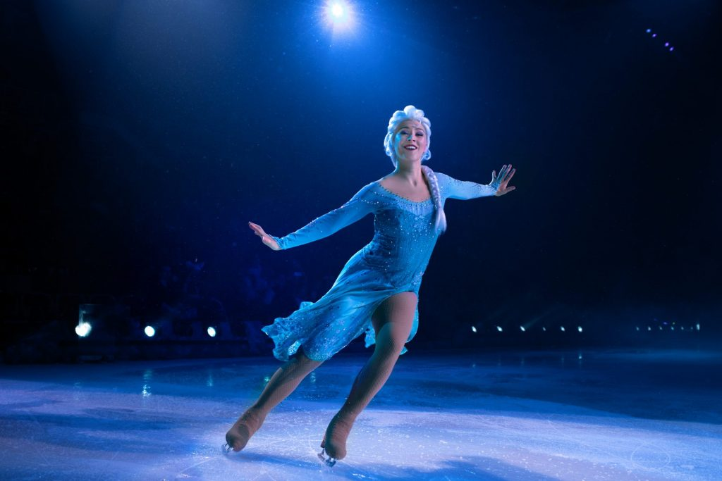 Elsa Frozen Disney on Ice Presents Big Dream Thomas and Mack Center